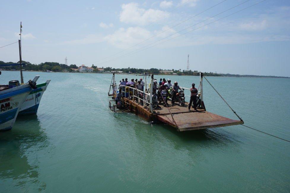 ferry kayts island
