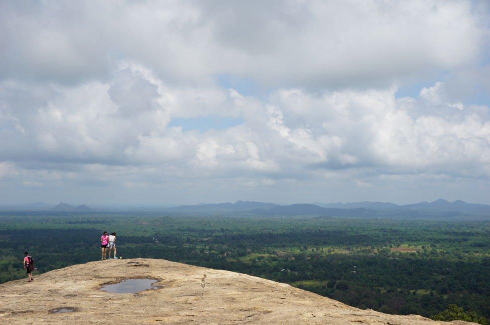 climbing pidurangala rock