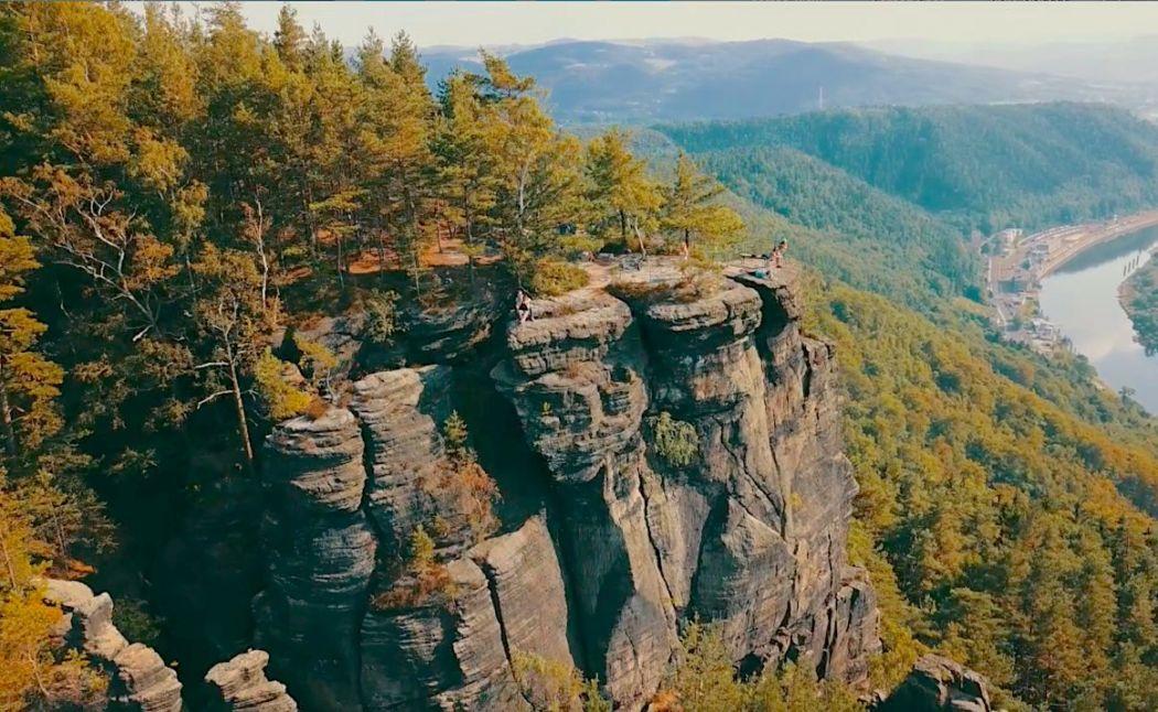 elbe river canyon