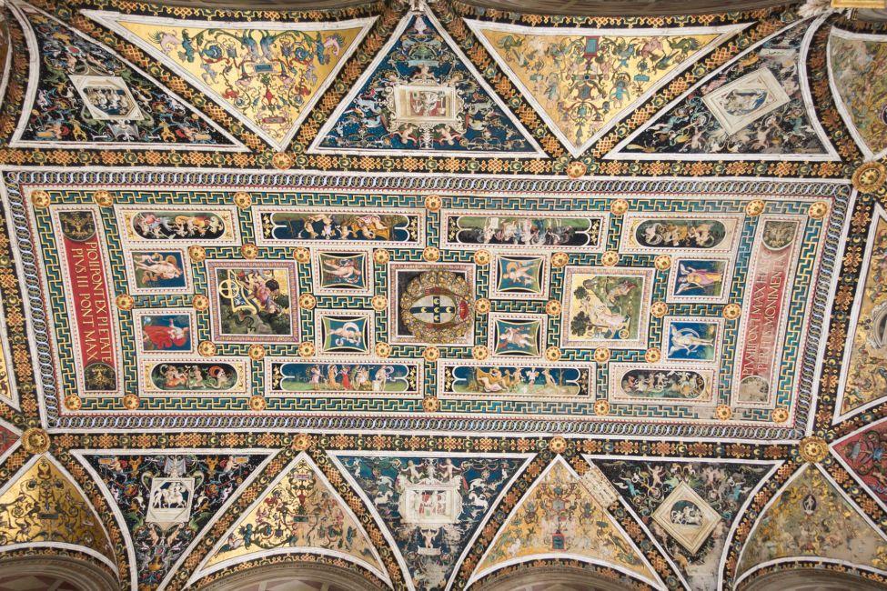 siena italy ceiling