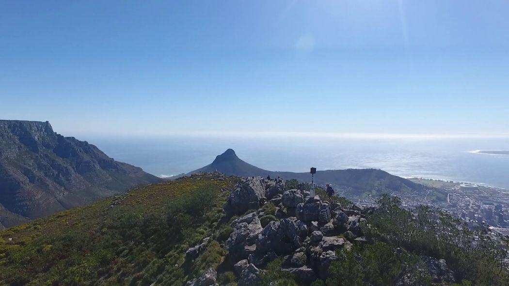 Devil's Peak cape town hike