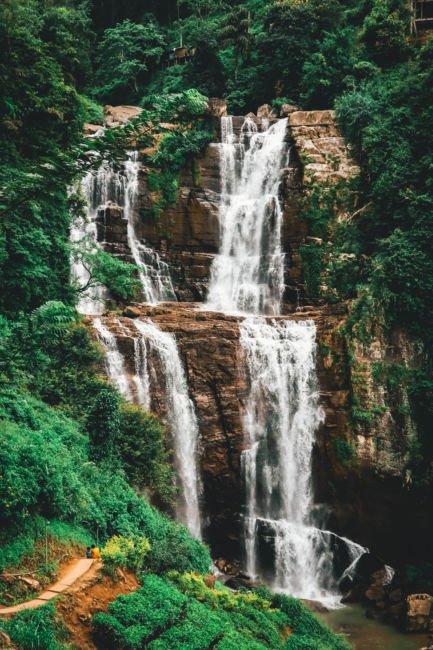 best waterfalls in sri lanka