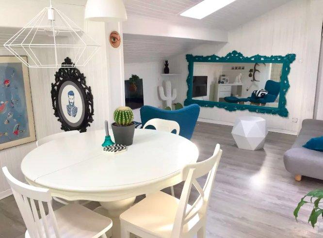 bright quirky airbnb in bologna centre