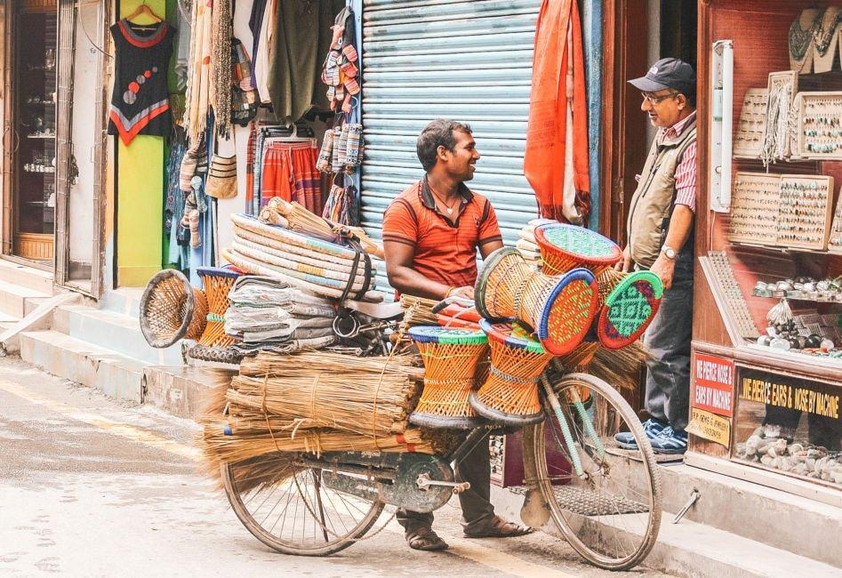shopping in thamel kathmandu