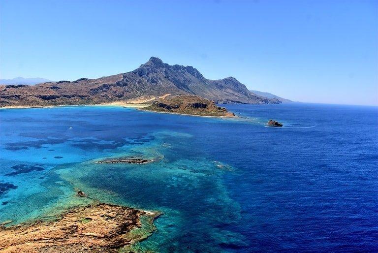Ocean in Crete
