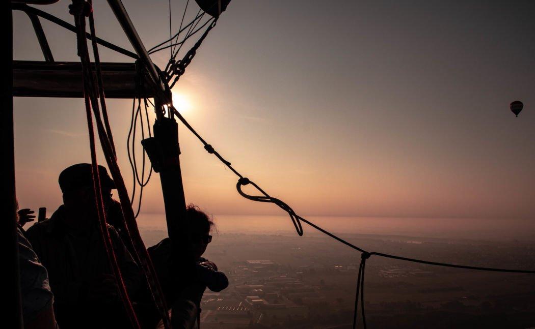 hot air balloon ferrara