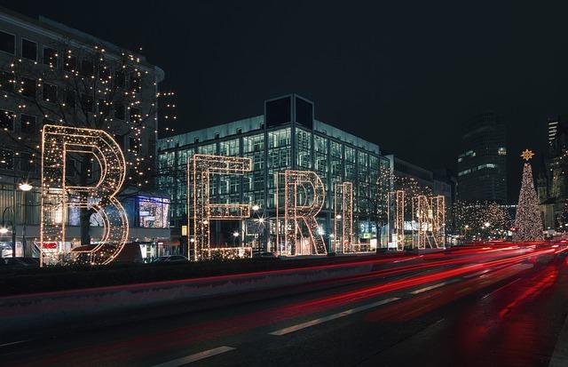 Berlin at Christmas