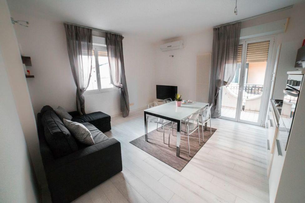 Living room in Rimini