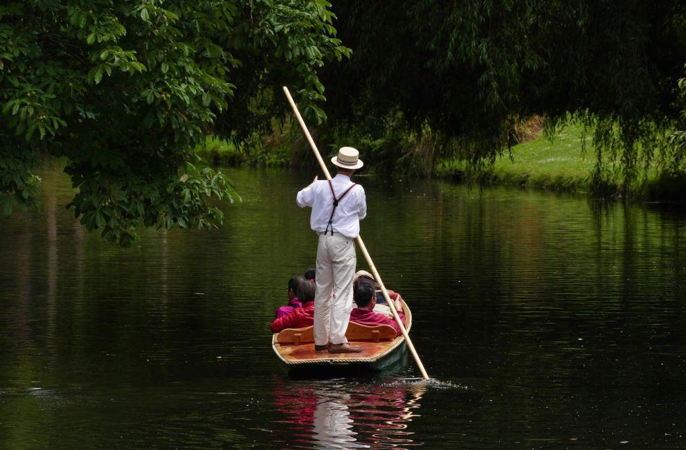 punt boat christchurch