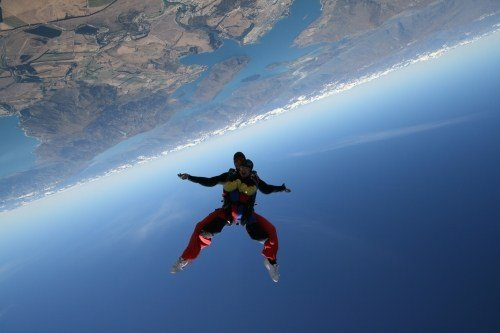 skydiving in wanaka this summer
