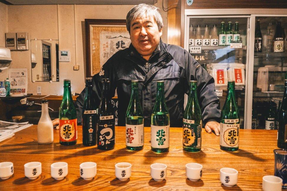 sado island sake brewery