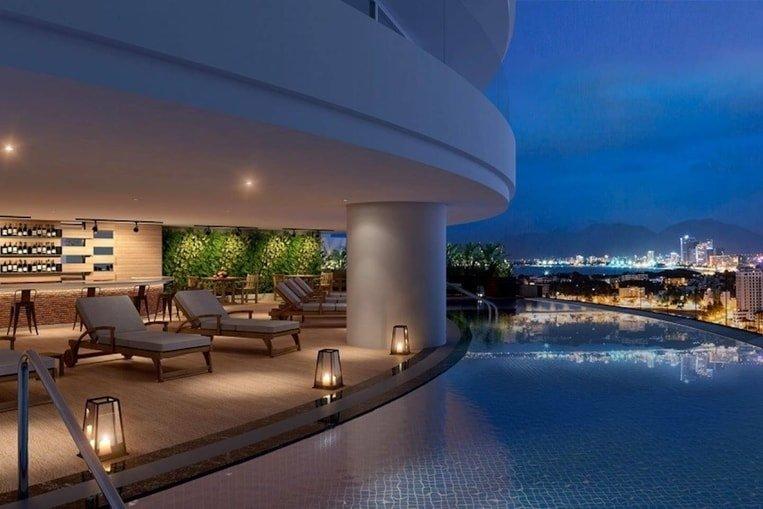 pool apartment hanoi airbnb
