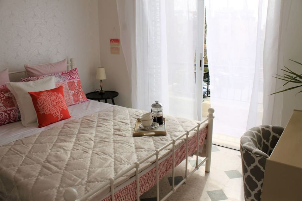 paphos airbnb bedroom
