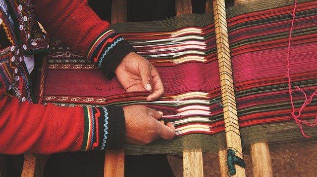 hand looming Bhutan