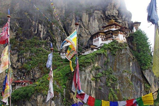 takshang buddhist temple Bhutan