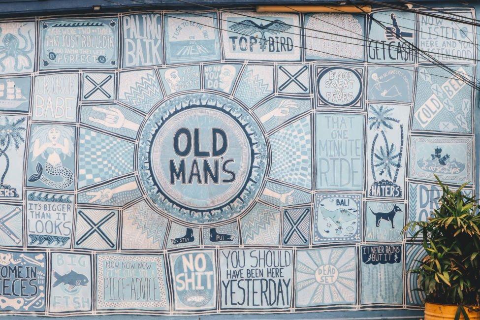 old-mans-canggu - most famous bar