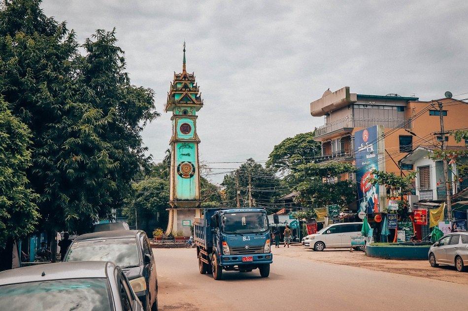 clock tower Myanmar