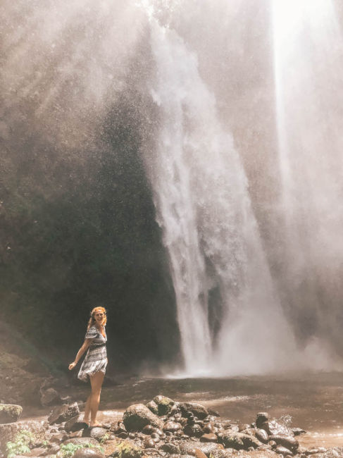 Nungnung waterfall tour bali