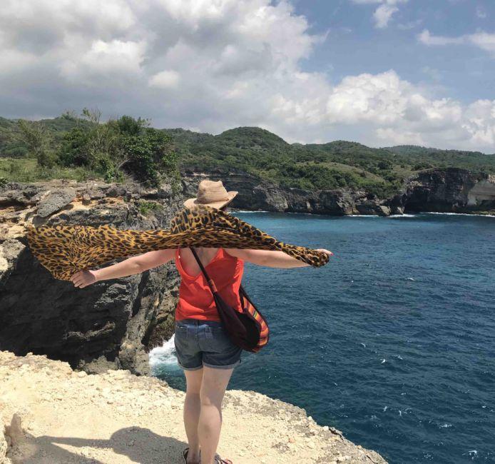 manta ray point
