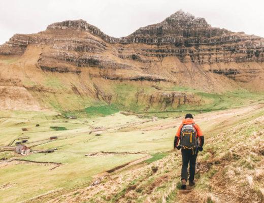 hiking gear faroe islands