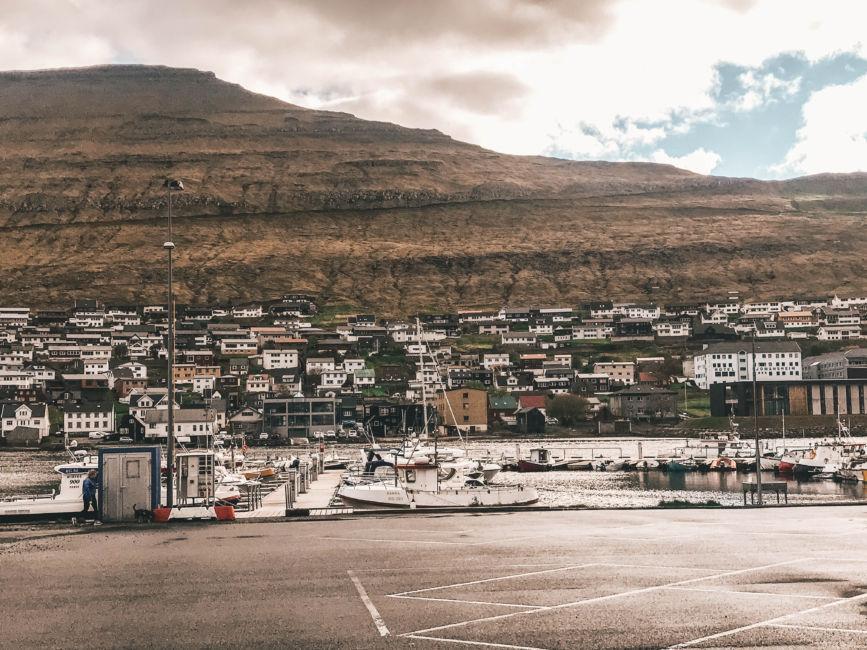 klaksvik pier and ferry