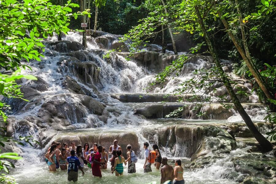 waterfall south Jamaica