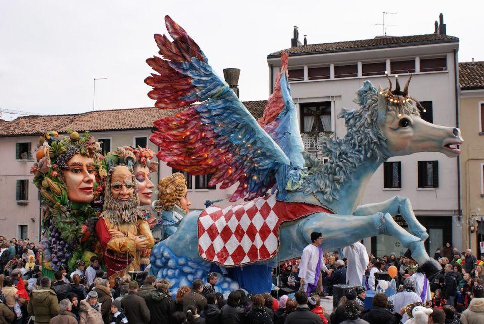 carnival in treviso Italy
