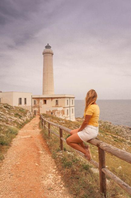 lighthouse n Otranto puglia