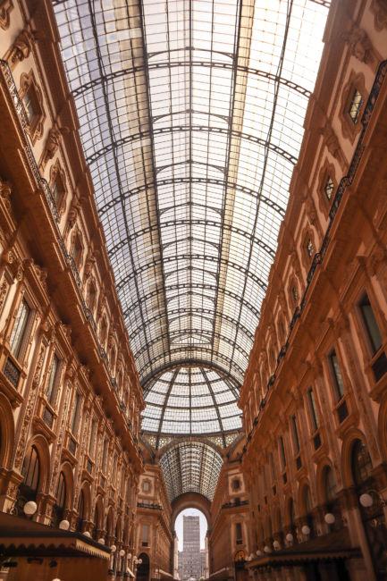 galleries shopping mall milan