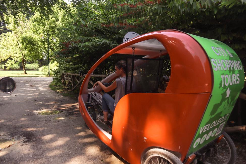 rickshaw tour milan