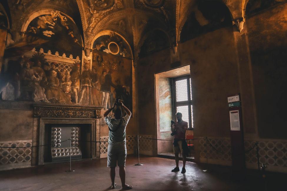 castle San Giorgio in Mantova