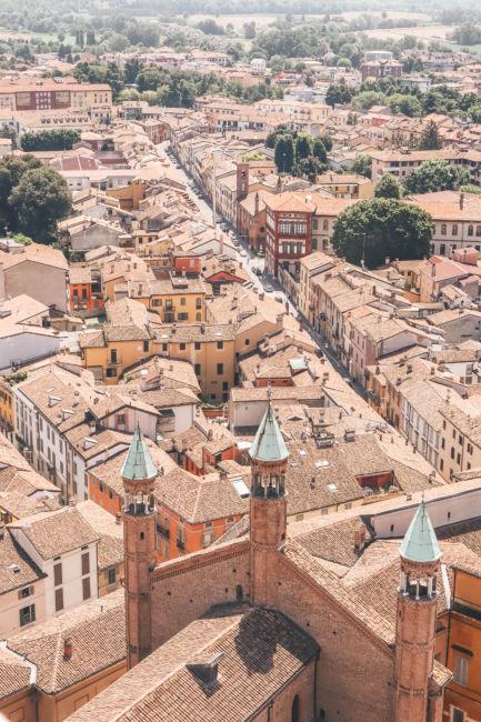 Cremona tower view