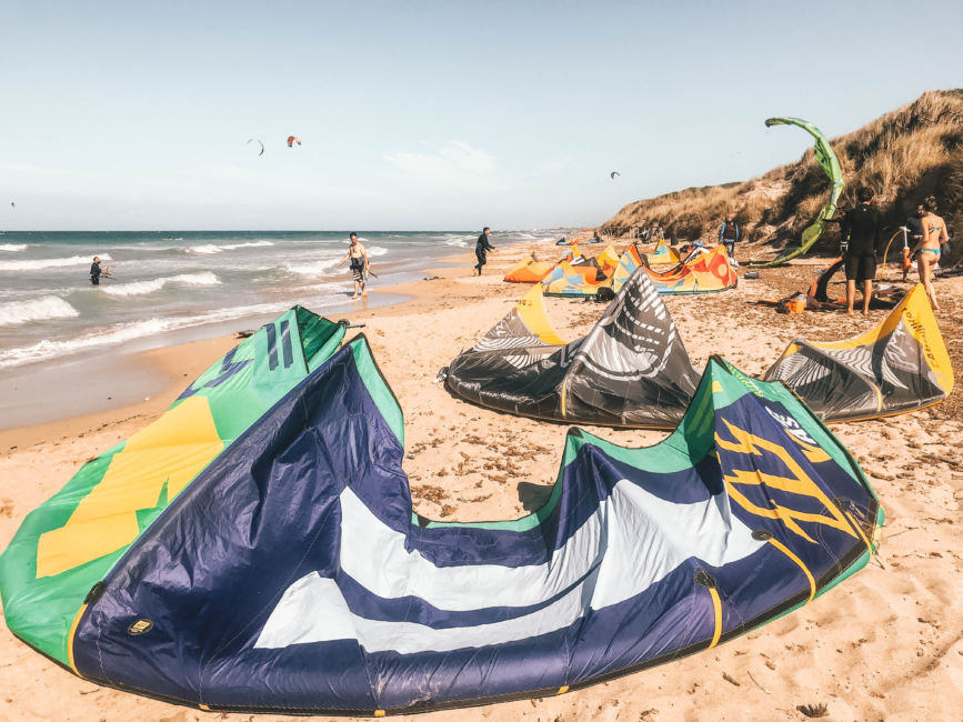 torre canne kite surfing
