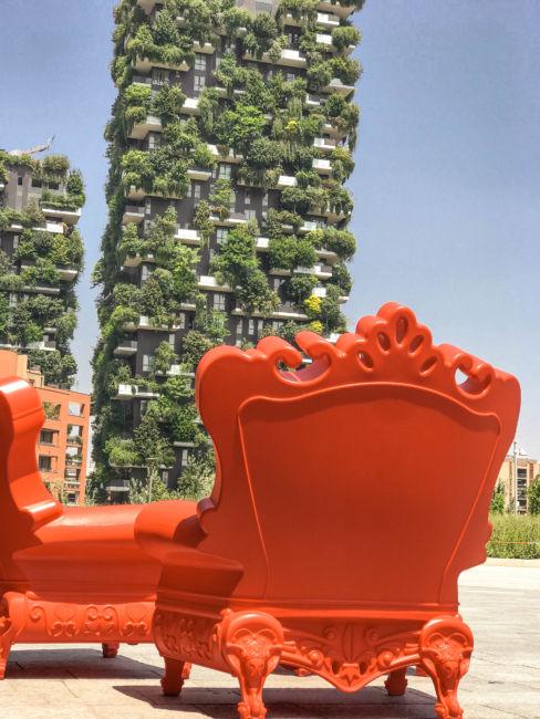 green jungle apartment milan