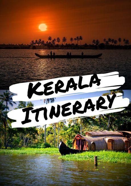 Kerala Itinerary