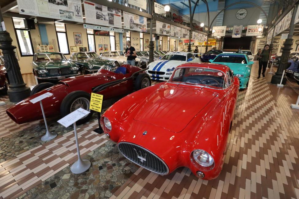 vintage Maserati cars Modena