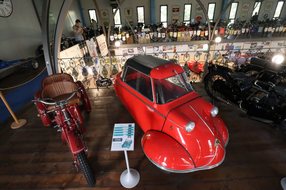 collection of vintage cars Modena