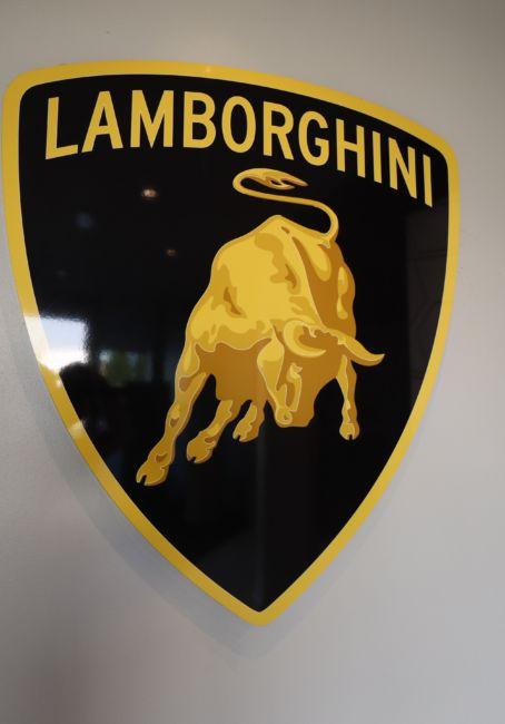 Lamborghini logo bull