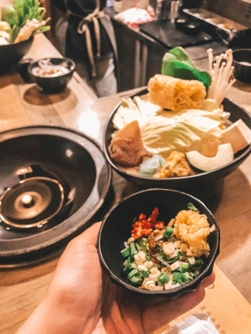 hot pot restaurant taipei