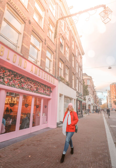 blond amsterdam pink store