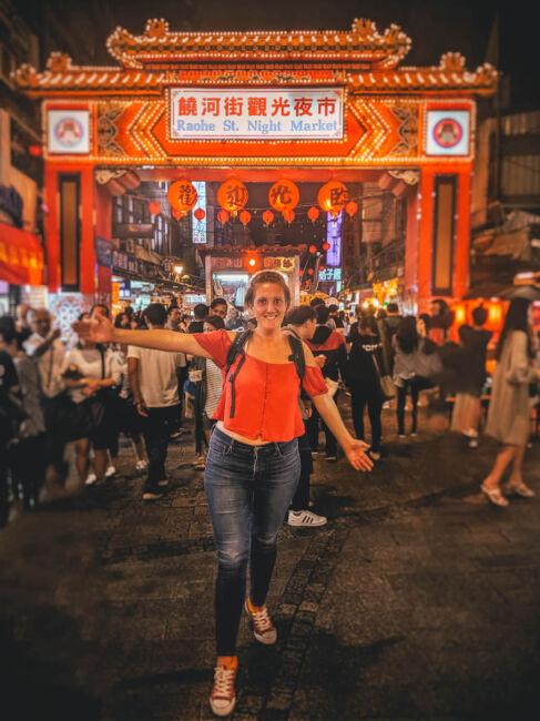 raohe night market taipei