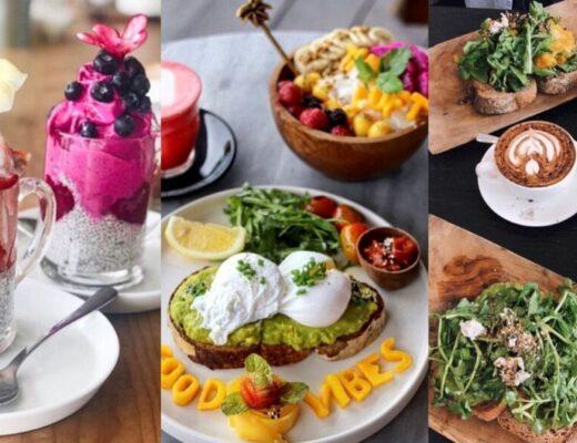 photos of best breakfasts in canggu bali