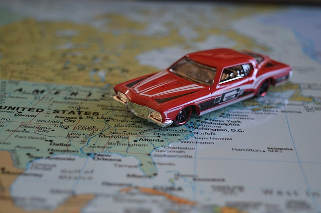 Florida road trip map and itinerary