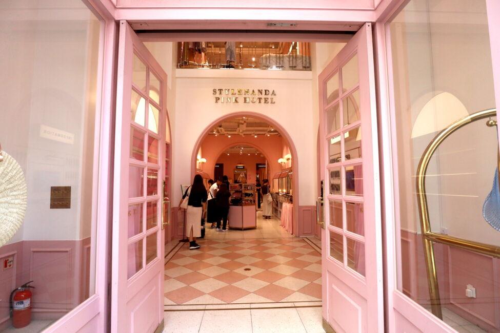 style nande pink cafe