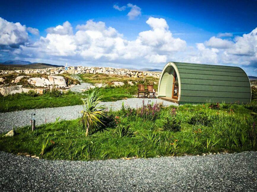 carna camping galway