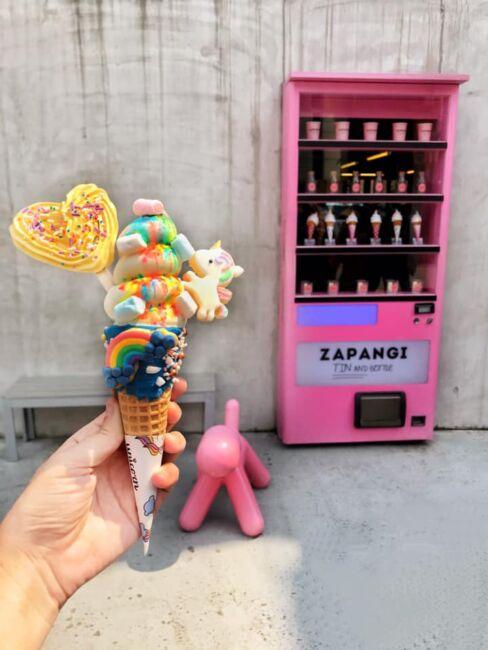 secret vending machine cafe seoul