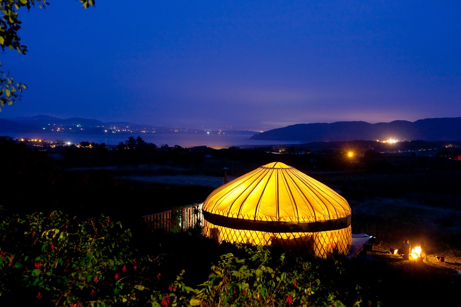 glamping donegal